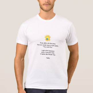 Hafiz Poem T-Shirt