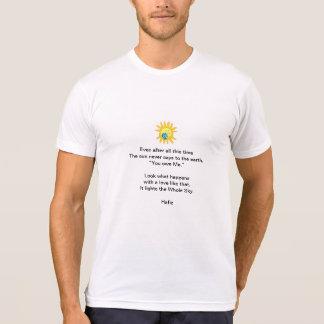 Hafiz Poem Tee Shirt