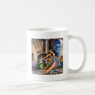 Hafiz (Sun & Earth) Love Quote Classic White Coffee Mug