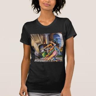 Hafiz (Sun & Earth) Love Quote T-shirt