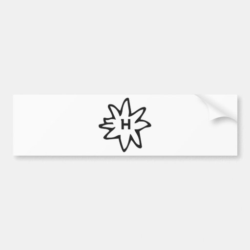Haflinger Bumper Sticker