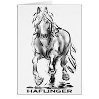 Haflinger Card