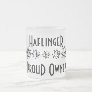 Haflinger Frosted Mug - Proud Owner