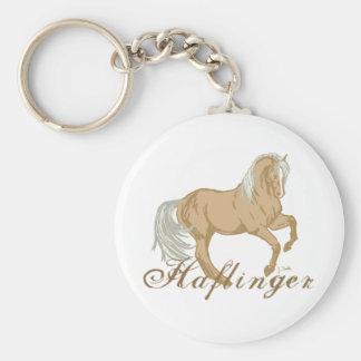 Haflinger Horse Keychain