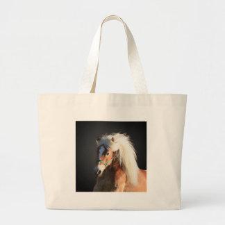 Haflinger Horse Large Tote Bag