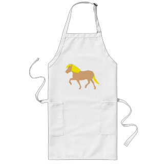 Haflinger Horse Long Apron