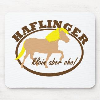 Haflinger, klein aber oho! mouse pad