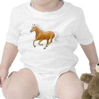 Haflinger Palomino Pony Infant One Piece Creeper