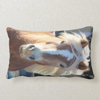 Haflinger Throw Pillow