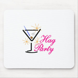 Hag Party Mouse Pad