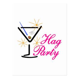 Hag Party Postcard