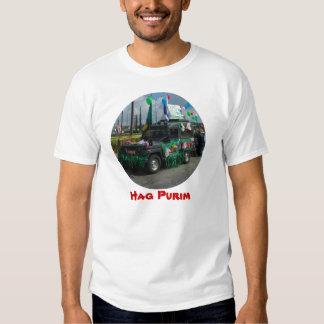 Hag Purim - The Jewish Carnaval in Israel T Shirt