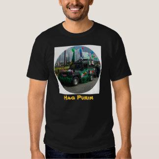 Hag Purim - The Jewish Carnaval in Israel T Shirts