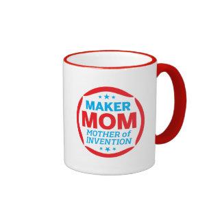 Haga a la mamá taza de dos colores