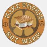 Haga a los pegatinas de las guerras de S'mores no
