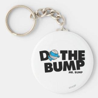 Haga a Sr. Bump del topetón el | Llavero Redondo Tipo Pin