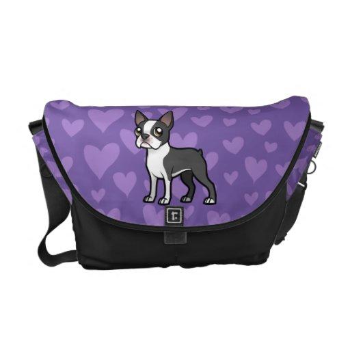 Haga a su propio mascota del dibujo animado bolsa de mensajeria