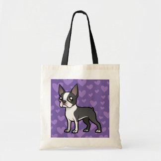 Haga a su propio mascota del dibujo animado bolsas de mano