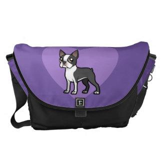 Haga a su propio mascota del dibujo animado bolsa de mensajería