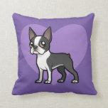Haga a su propio mascota del dibujo animado almohadas
