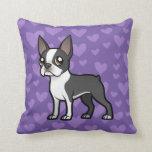 Haga a su propio mascota del dibujo animado almohada