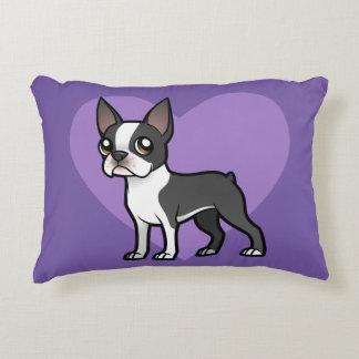 Haga a su propio mascota del dibujo animado cojín decorativo
