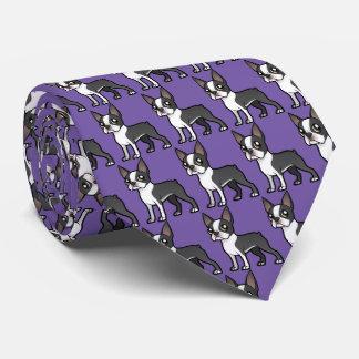 Haga a su propio mascota del dibujo animado corbata personalizada