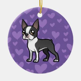 Haga a su propio mascota del dibujo animado ornamento para arbol de navidad