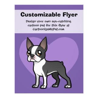 """Haga a su propio mascota del dibujo animado folleto 8.5"""" x 11"""""""