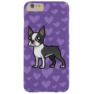 Haga a su propio mascota del dibujo animado funda de iPhone 6 plus barely there