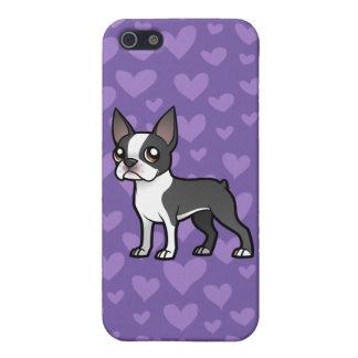 Haga a su propio mascota del dibujo animado iPhone 5 funda