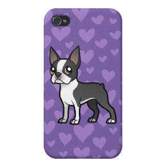 Haga a su propio mascota del dibujo animado iPhone 4 cárcasa