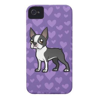 Haga a su propio mascota del dibujo animado funda para iPhone 4