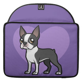 Haga a su propio mascota del dibujo animado fundas macbook pro