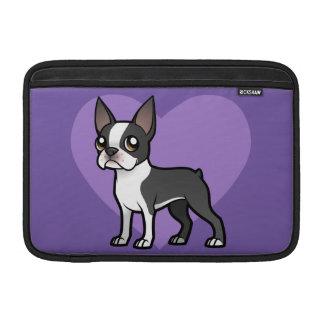 Haga a su propio mascota del dibujo animado fundas para macbook air