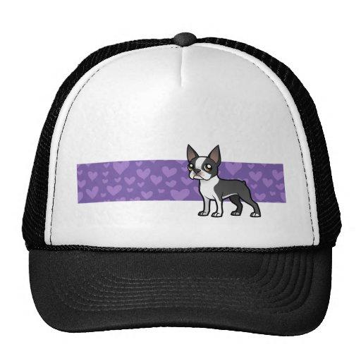 Haga a su propio mascota del dibujo animado gorra