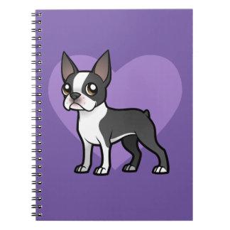 Haga a su propio mascota del dibujo animado libreta