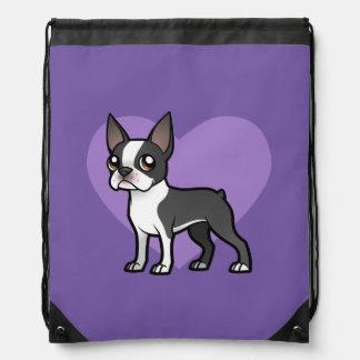 Haga a su propio mascota del dibujo animado mochilas