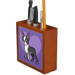 Haga a su propio mascota del dibujo animado organizador de escritorio
