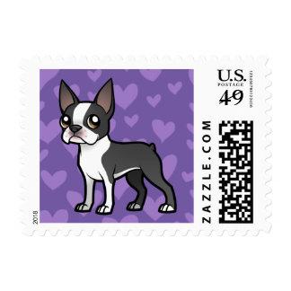 Haga a su propio mascota del dibujo animado sello postal