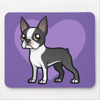 Haga a su propio mascota del dibujo animado tapetes de raton