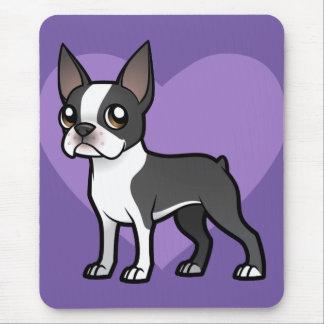 Haga a su propio mascota del dibujo animado mouse pad