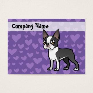 Haga a su propio mascota del dibujo animado tarjeta de negocios