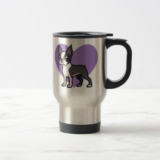 Haga a su propio mascota del dibujo animado taza de viaje de acero inoxidable
