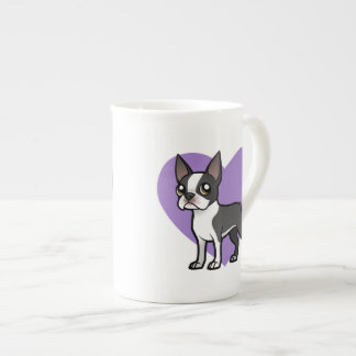 Haga a su propio mascota del dibujo animado taza de porcelana