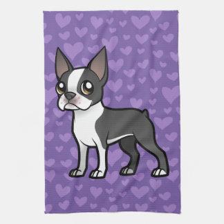 Haga a su propio mascota del dibujo animado toallas