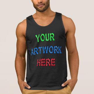 Haga a sus propios hombres de las camisetas sin ma