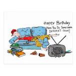 Haga algo diverso cumpleaños tarjetas postales