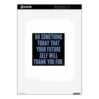 Haga algo hoy calcomanías para iPad 2