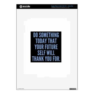Haga algo hoy iPad 3 skins